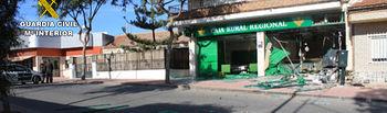 La Guardia Civil desarticula una organización que empleaba explosivos para forzar y robar cajeros automáticos. Foto: Ministerio del Interior