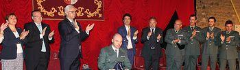 """Labrador destaca la """"entrega"""" y """"generosidad"""" de Román David Gómez durante la entrega de la Medalla de Oro de Illescas"""
