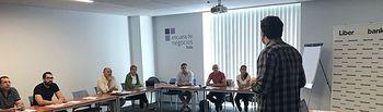 Primer taller práctico de inglés (Reset!) que FEDA ha celebrado con las empresas