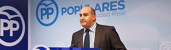 Julián Triguero, alcalde de Pozuelo de Calatrava.