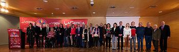 XI Premios Solidarios - Foto de familia - Con texto. Foto: Manuel Lozano García / La Cerca