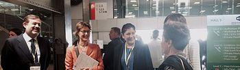 Ministra reunión GGG Carbon Expo. Foto: Ministerio de Agricultura, Alimentación y Medio Ambiente