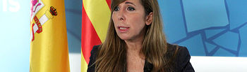 Alicia Sánchez-Camacho durante su intervención