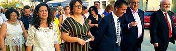 El presidente de la Diputación de Albacete asiste a las Fiestas que Socovos celebra en honor a Nuestra Señora de la Asunción.