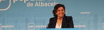 Cesárea Arnedo, diputada regional.