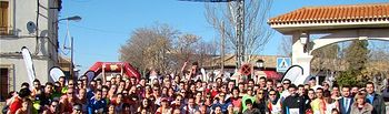 Diego López y Gelen Muñoz lograron su segunda victoria del año en la carrera popular de Madrigueras