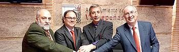 Javier Pérez ha firmado un convenio de colaboración con la Asociación AFAD