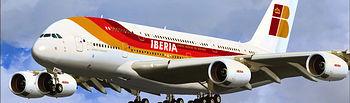 Avión de Iberia. Foto de Archivo.