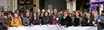 Los ayuntamientos socialistas reivindican con paros la Igualdad entre hombres y mujeres.