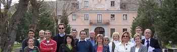 El Centro Europeo de Periodismo visita proyectos cofinanciados por la Unión Europea y se interesan por la gestión de los mismos.