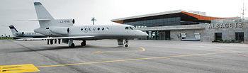El Aeropuerto de Albacete, el primero de uso civil en la Región, está teniendo un elevado y constante crecimiento