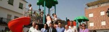 Inauguración del Parque Infantil en Navalcán
