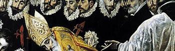 """La influencia bizantina en El Greco se aprecia, entre otras obras, en """"El entierro del Conde de Orgaz"""" (fragmento)"""