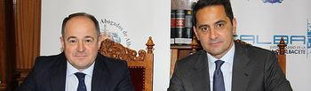Emilio Sáez mantiene un encuentro con profesionales de la Abogacía de ICALBA
