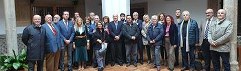 Reunión de la Academia de Gastronomía de Castilla-La Mancha en Toledo.