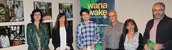 Inauguración de la exposición 'Wanawake' que Farmamundi presenta en Albacete.