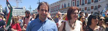 Cristiano Brown y Maite Pagazaurtundúa.