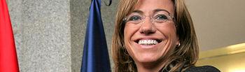 Carme Chacón Piqueras, Ministra de Defensa. ©mde.es