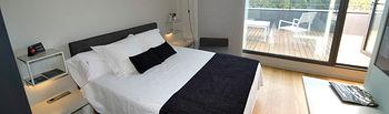 La clase y la elegancia se respiran en todas las dependencias del Hotel Blu de Almansa.