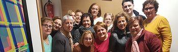 Soriano celebró el Jueves Lardero con la Asociación de Amas de Casa del barrio Pedro Lamata.