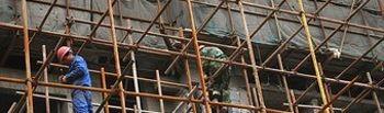 La Construcción ha perdido 35.100 ocupados, una caída del 43,33%