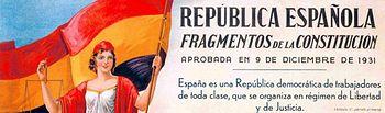 Fragmento Constitución Española de 1931.