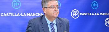 Juan Antonio Moreno Moya, diputado regional del Grupo Parlamentario Popular en las Cortes de Castilla-La Mancha.