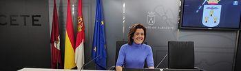 Rosario Velasco Hernández, portavoz del grupo municipal VOX.