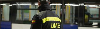 Coronavirus- Militares de la UME. Foto: Europa Press 2020
