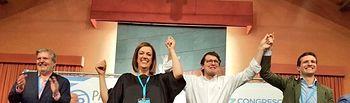 Pablo Casado en la clausura del 13 Congreso del PP de Palencia