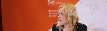 Carmen Picazo, portavoz de Ciudadanos en las Cortes de CLM.