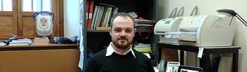 Carlos Jiménez Izquierdo, ganador del Premio ELCOGAS Joven Investigador de la Universidad regional.