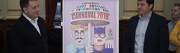 Presentación cartel ganador del Carnaval de Albacete 2018.