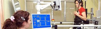 En la imagen el Lokomat, equipamiento que aprenderán a manejar los alumnos del curso de fisioterapia que se desarrollará en el Hospital Nacional de Parapléjicos de Toledo los días 11, 12, 18 y 19 de diciembre.
