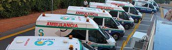 Transporte sanitario no urgente. Foto: JCCM.