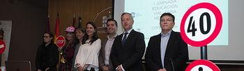 Jornada de Educación Vial para colegios en la Diputación de Albacete