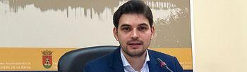 Santiago Serrano,concejal de Fondos Europeos, .Foto: Ayuntamiento de Talavera de la Reina.