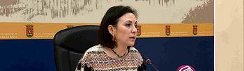 María Rodríguez portavoz del equipo de Gobierno.