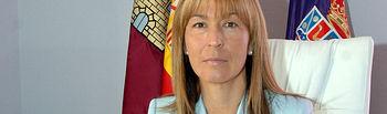 Ana Guarinos, presidenta de la Diputación Provincial de Guadalajara.