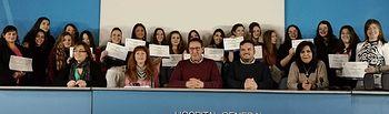 27 alumnos finalizan sus prácticas como auxiliares de enfermería en el Hospital de Cuenca.