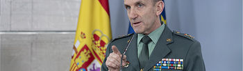 José Manuel Santiago, jefe del Estado Mayor de la Guardia Civil.