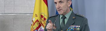 José Manuel Santiago, jefe del Estado Mayor de la Guardia Civil.