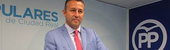 Adrián Fernández, portavoz del Grupo Popular en la Diputación Provincial de Ciudad Real.