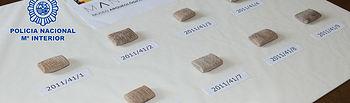 La Policía Nacional ha entregado nueve tablillas cuneiformes de la antigua Mesopotamia al embajador de Irak. Foto: Ministerio del Interior