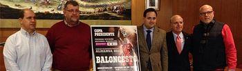 La Copa Presidente de Baloncesto se disputará el próximo fin de semana en Almansa