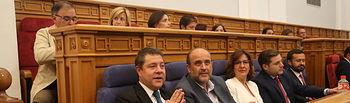 Toledo, 22 de julio de 2019.- El presidente de Castilla-La Mancha, Emiliano García-Page, en el Pleno de las Cortes celebrado hoy en Toledo. (Foto: Álvaro Ruiz // JCCM).