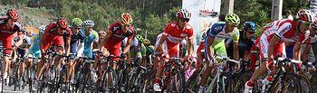Vuelta Ciclista. Foto de Archivo.