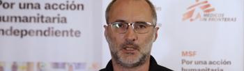 David Nogueras, presidente de Médicos sin Fronteras.