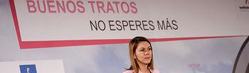 Cospedal clausura el acto del Día Internacional contra la violencia de género V. Foto: JCCM.