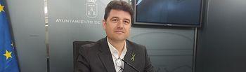 Francisco Navarro, concejal del Grupo Municipal Popular.